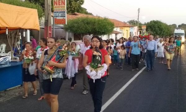 Veja como foi o encerramento do festejo de Santa Ana em Lagoinha