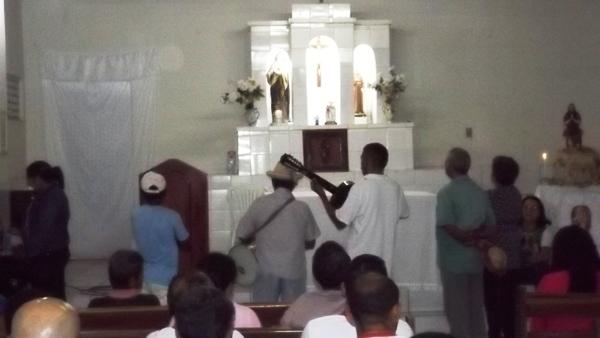 Começou os festejos de Santo Onofre na localidade Boi Morto