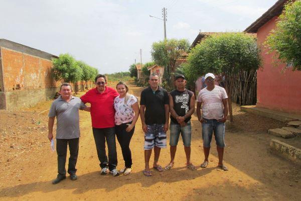 Em Agricolândia, começou a obra de construção do calçamento do Residencial Novo Horizonte