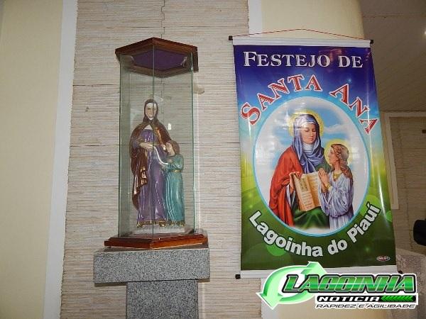 Veja como foi a abertura do Festejo de Santa Ana em Lagoinha do Piauí