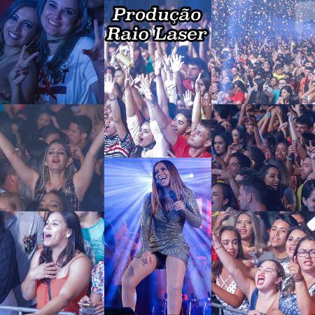 Solange Almeida realiza grande show em Agua Branca