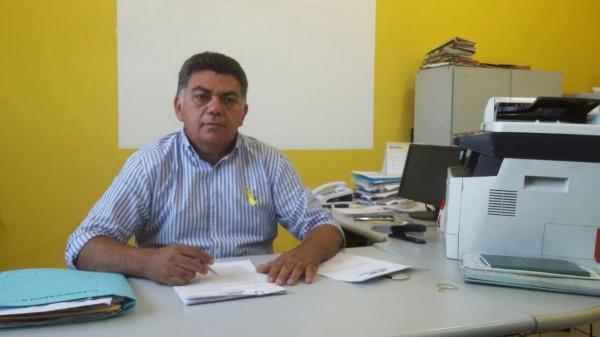 Secretário de Administração Marcos Carvalho fala dos trabalhos oferecidos pela Justiça Itinerante em Agricolândia