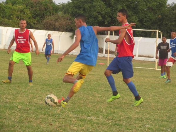 Seleção Agricolandense faz treino antes de encarar a seleção de Santo Antônio no sábado 07 em Agricolândia