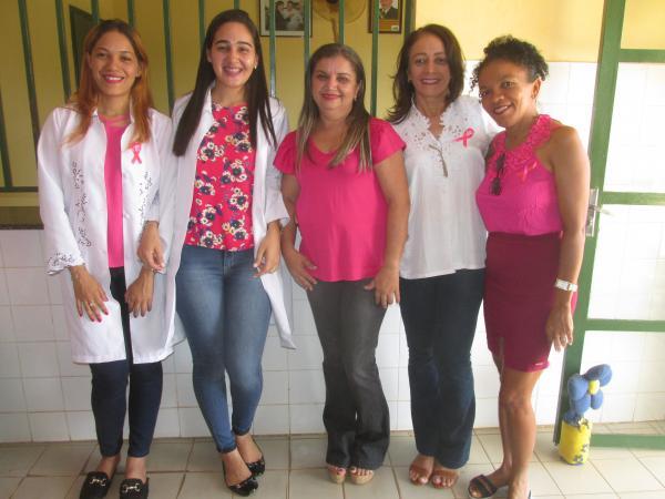 Palestra com a Ginecologista Dr. Ana Inicia a campanha Outubro Rosa em Agricolândia