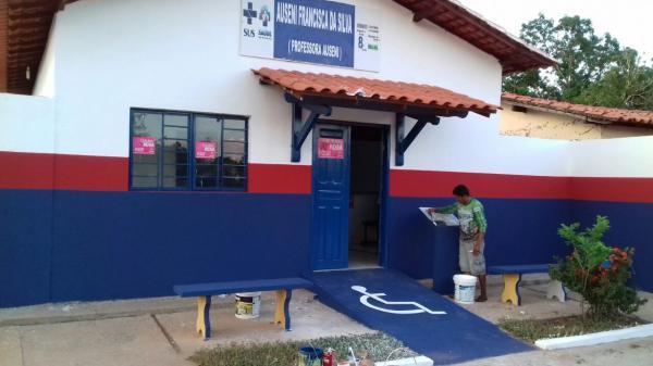 PMA conclui reforma de posto de saúde da localidade Buraco Dágua