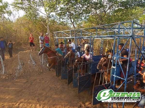 Corrida de Cavalos movimenta o Festejo de Estaca Zero