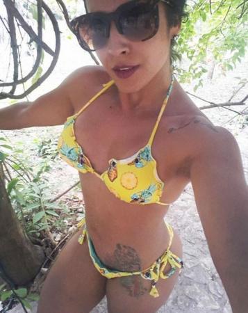 Ex-BBB Priscila Pires exibe corpão em foto no Instagram