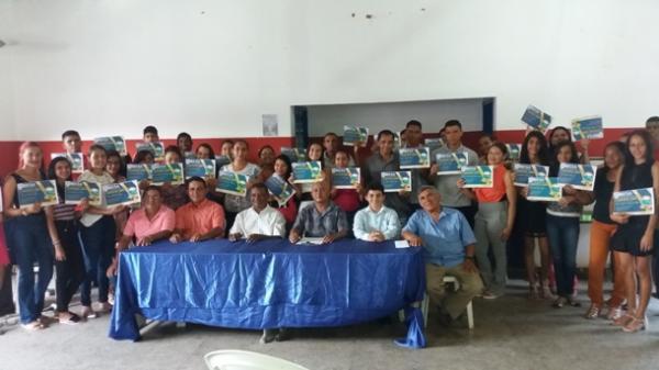 Em Agricolândia Instituto ESA certifica alunos de cursos profissionalizantes