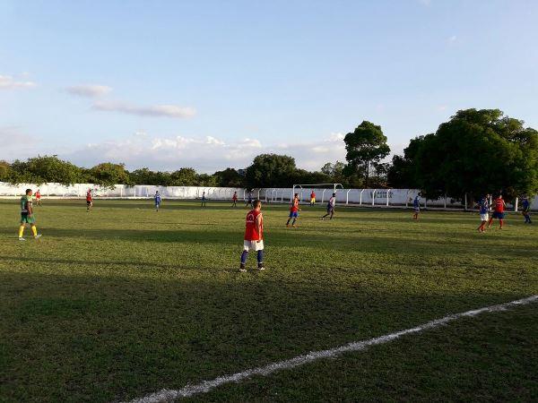 Seleção de Agricolândia faz ultimo treino preparatório para enfrentar a Seleção de Amarante