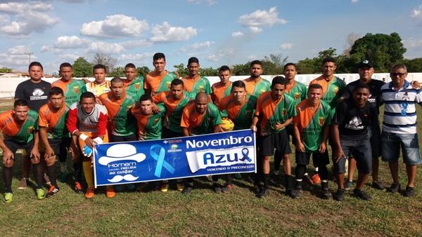 Seleção de Agricolândia despacha Amarante e vai a semi-final da II copa AMPAR