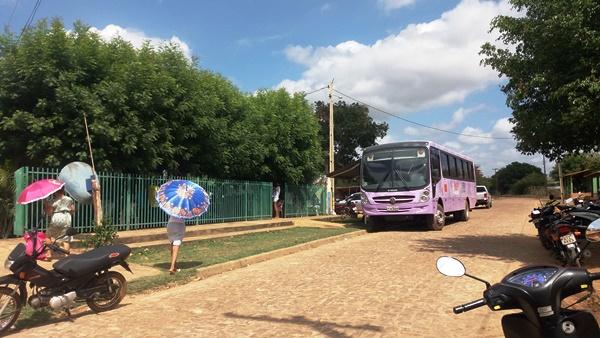 Agricolândia recebe Ônibus Lilás e realiza atividades sobre os direitos das mulheres