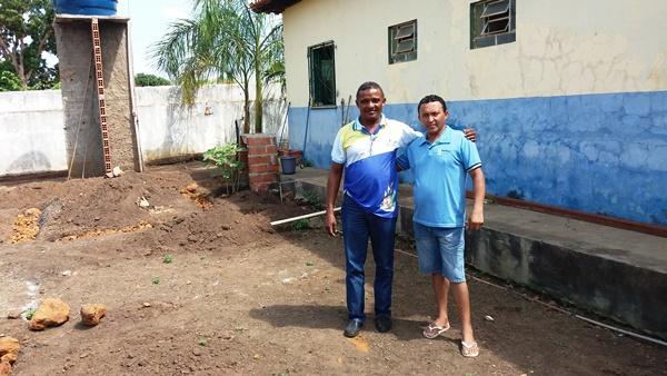 PMA Inicia a obra de ampliação do Posto de Saúde da localidade Tamboril