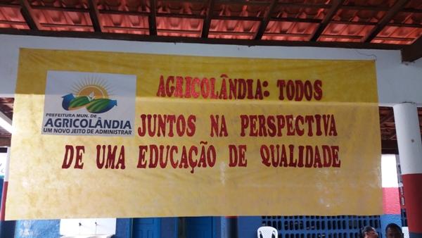 Em Agricolândia aconteceu a II Conferência Municipal de Educação com vistas avaliar o PME