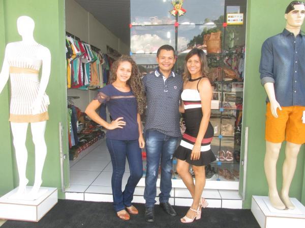 Inauguração da Loja Passo Chic seu novo espaço em Agricolândia