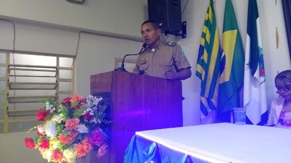 Cabo Giordano da Força Tática da 2ª Cia recebe título de cidadão REGENERENSE