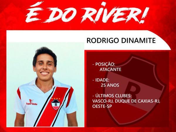 River anuncia Rodrigo, filho do ex-jogador Roberto Dinamite
