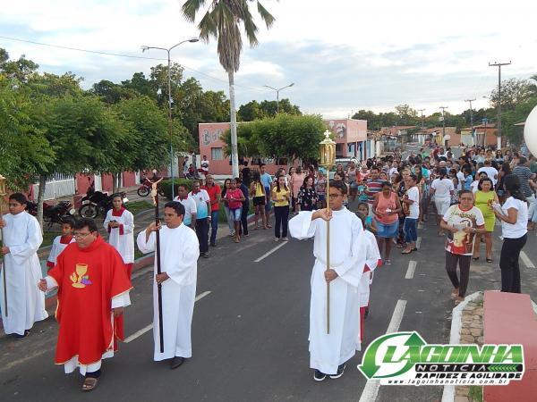Veja como foi a procissão de encerramento do Festejo de São Sebastião