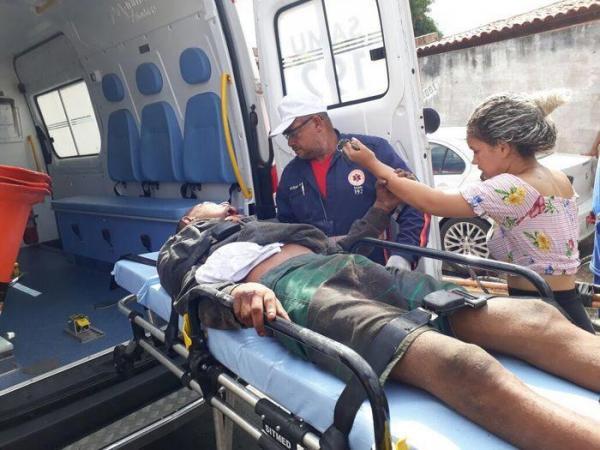 Dupla é baleada durante tentativa de assalto a policial em Teresina