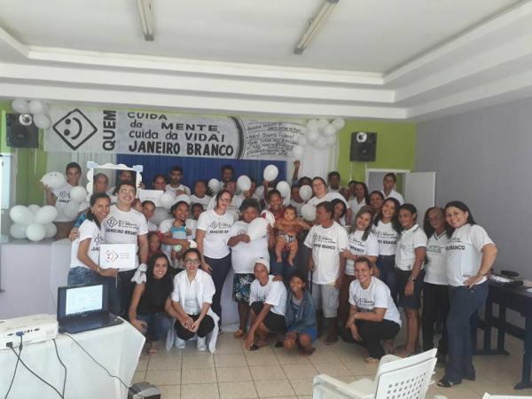 Assistência Social de Santo Antônio dos Milagres realiza campanha Janeiro Branco