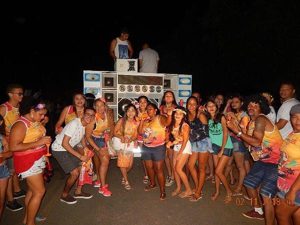 Carnaval de Agricolândia uma multidão marcou presença