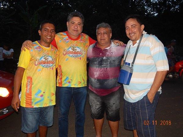 Deputado João Madison Prestigia festa de Carnaval em Agricolândia