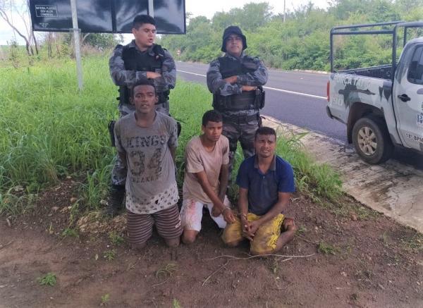 Seis Presos fogem da Delegacia de Polícia da cidade de Água Branca