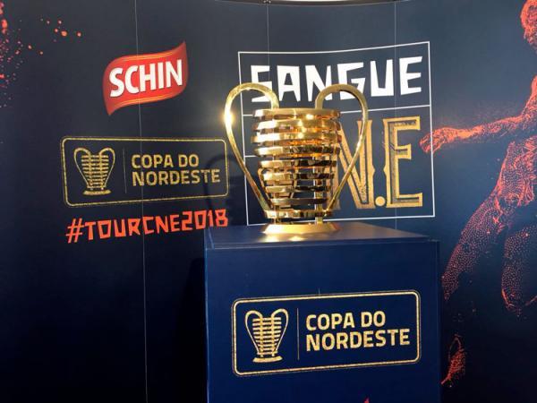 Taça da Copa do Nordeste chega a Teresina nesta terça (20)