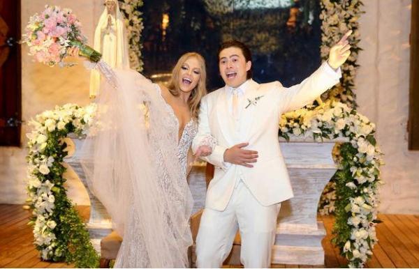 Whindersson Nunes e Luísa se casam em Alagoas