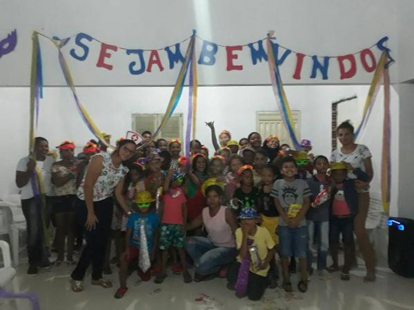 Social de Santo Antônio dos Milagres realiza abertura SCFV