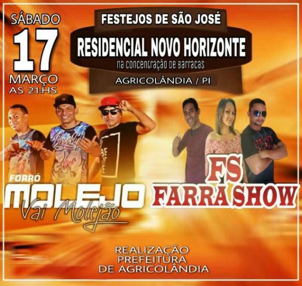 Confirmado as atrações artísticas dos festejos do Novo Horizonte