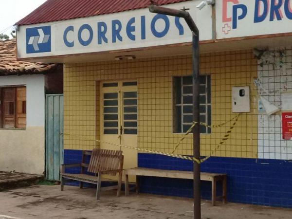 Bandidos fortemente armados arrombam agência dos Correios no Piauí