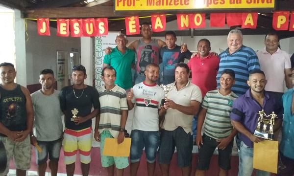 Veja quem foi os ganhadores dos torneios da Semana Santa em Lagoinha do Piauí