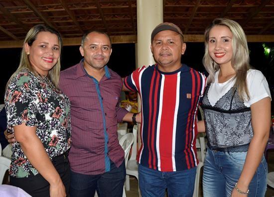 Presidente da AMPAR Dr. Adalberto Filho prestigia o aniversário da cidade de Hugo Napoleão