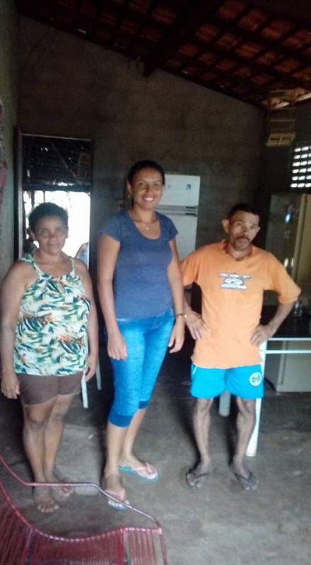 Vereadora Naiana percorre vários bairros de Miguel Leão ouvindo a população