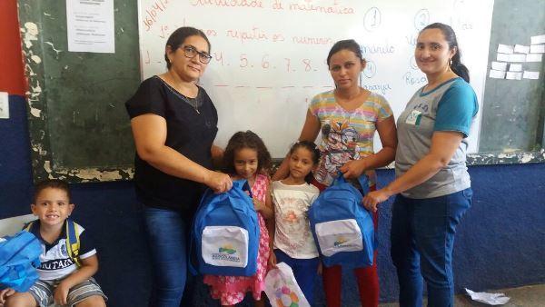 Prefeitura de Agricolândia entrega kit escolar aos alunos da rede municipal