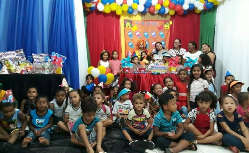 SCFV realiza festa de Aniversário para as Crianças em Santo Antônio dos Milagres