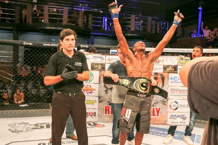 Piauiense finaliza ex-UFC e é o novo Campeão do Shooto Brasil
