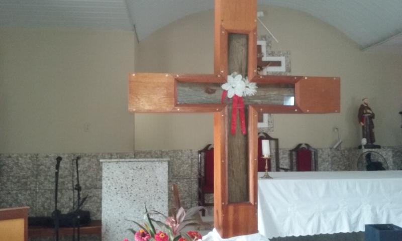 Missa e Carreata de Despedida da Imagem da Santa Cruz acontece nessa quinta dia 17 em Agricolândia