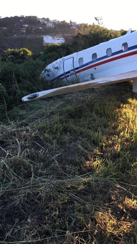 Avião de Alok sai da pista durante decolagem em Minas Gerais