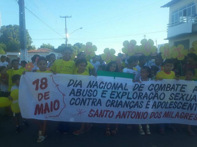Social de Santo Antônio dos Milagres Realiza semana de Combate a Exploração Sexual