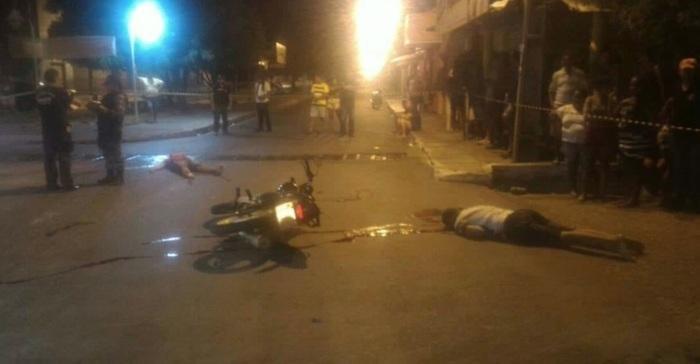 Dois jovens são executados a tiros no bairro Promorar em Teresina