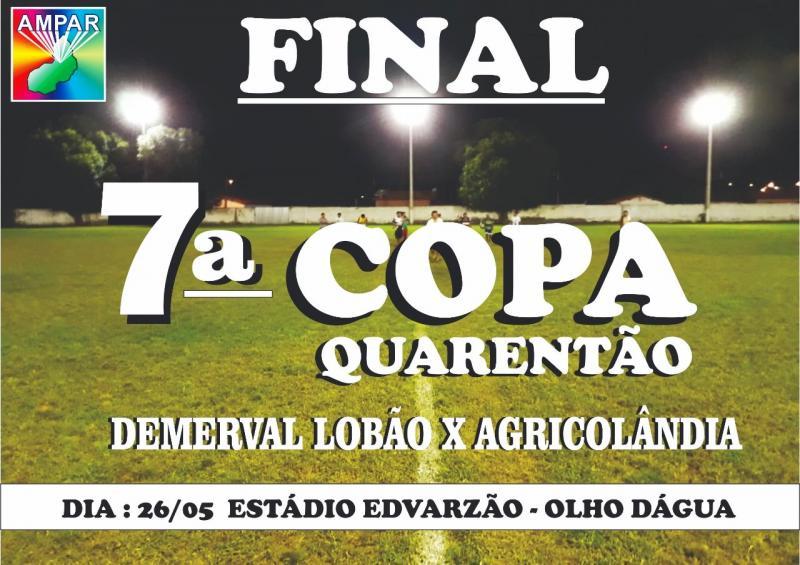 Agricolândia vai a campo para a grande final da 7ª copa AMPAR de seleções do Médio Parnaíba