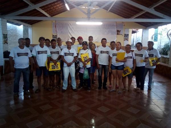 Agricultores de Elesbão Veloso participaram do curso sobre práticas e manejo em sistema de irrigação por aspersão e gotejamento