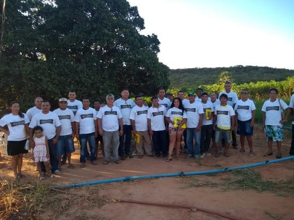 Curso de práticas e manejo em sistemas de Irrigação por aspersão e gotejamento é ministrado na cidade de Socorro do Piauí