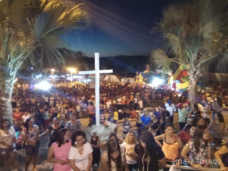 Veja como foi a abertura do festejo de Santo Antônio dos Milagres Piauí