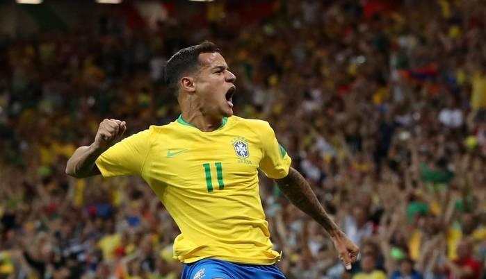 Brasil e Suíça empatam em 1 a 1 em estreia na Copa de 2018