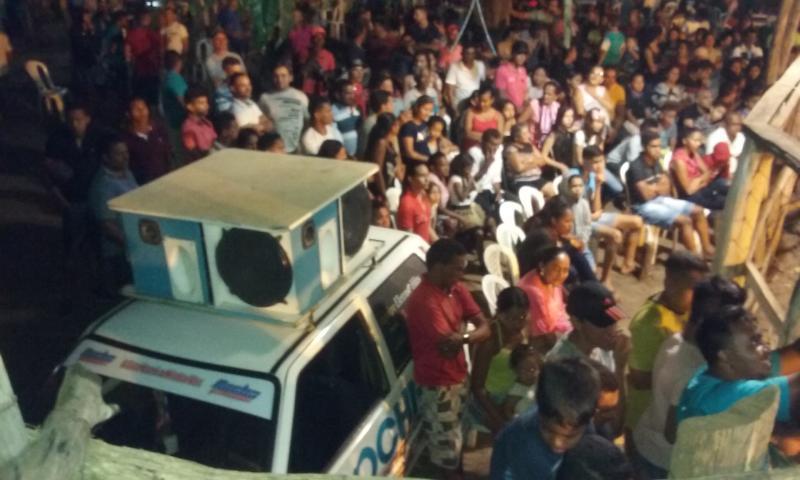 Público marca presença no Rodeio Tuna Brito em Tamboril