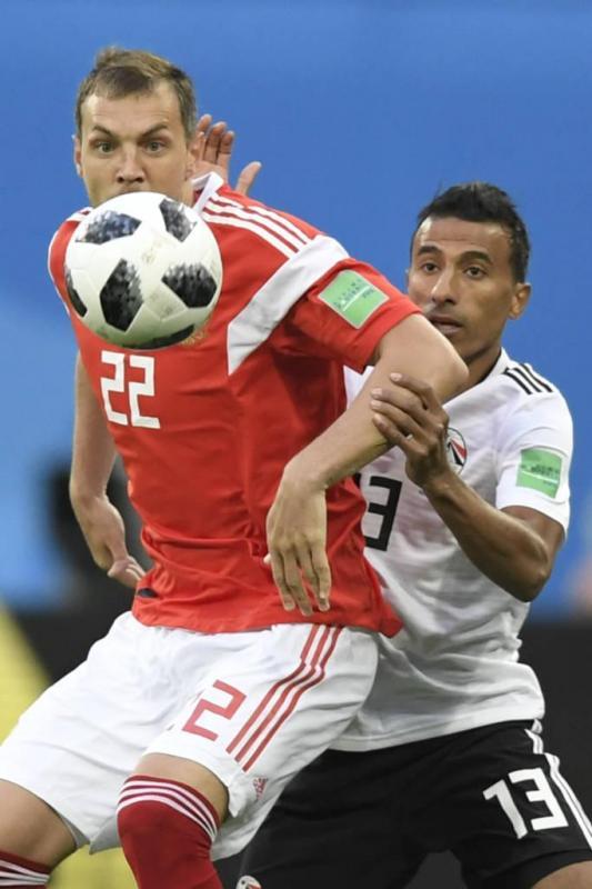 Rússia vence Egito e fica mais próxima das oitavas de final