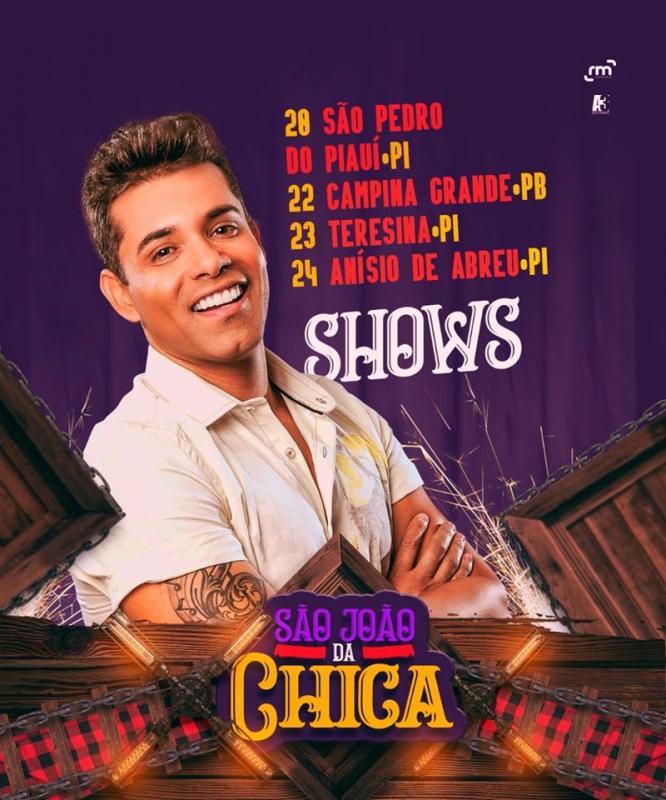 Hoje tem Chicabana na Cidade de São Pedro do Piauí