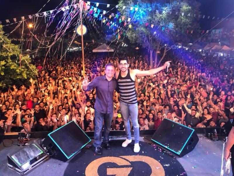 Festejo de São Pedro do Piauí foi um Mega show com Gabriel Diniz
